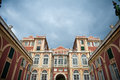 Palazzo architecture in Genoa Stock Photography