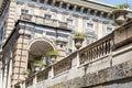 Palazzo Bianco garden in Genoa ,Italy Royalty Free Stock Photo