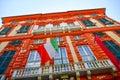 Palazzo Rosso ,Genoa , Italy Royalty Free Stock Photo