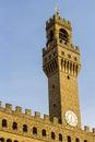 Palazzo della Signoria Royalty Free Stock Photo