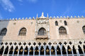 Palazzo ducale doges palace venice italy the famous at piazza san marco st mark s square in Royalty Free Stock Images