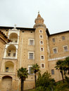 Palazzo ducale in Urbino Stock Photography
