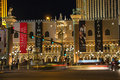 The palazzo luxury hotel and casino resort in las vegas nevada usa october opened on december one of most Stock Image