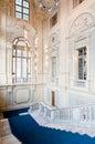 Palazzo Madama's staircase Stock Photo