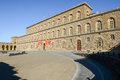 The Palazzo Pitti in Florence Royalty Free Stock Photo
