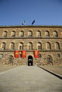 Palazzo pitti in florence tuscany italy the facade of the palace the palace was bought by the medici family and became the Stock Photos