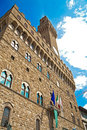 Palazzo Vecchio in Florence Royalty Free Stock Photos