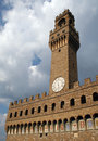 Palazzo Vecchio in Florence Italy Stock Images