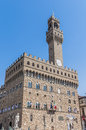 Palazzo Vecchio, the town hall of Florence, Italy. Stock Photo