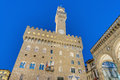 Palazzo Vecchio, the town hall of Florence, Italy. Royalty Free Stock Images