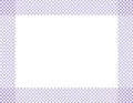 Pale purple and white checkered frame background with center isolated for copy space Royalty Free Stock Photography