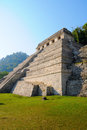 Palenque Pyramid, Mexico Royalty Free Stock Photo