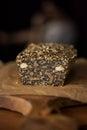 Paleo bread, gluten free Royalty Free Stock Photo