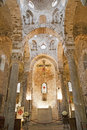 Palermo main nave of romanic church san cataldo build in years on april in italy Royalty Free Stock Photography