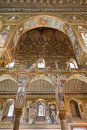 Palermo mosaic of cappella palatina palatine chapel in norman palace style byzantine architecture from years on april Royalty Free Stock Photography
