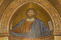 Palermo mosaics of main apse of monreale cathedral christ jesus mosaic church is wonderful example norman architecture was Stock Photography