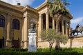 Palermo Opera Royalty Free Stock Photo