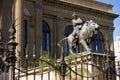 Palermo Opera House Detail Royalty Free Stock Photo