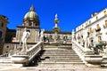 Palermo piazza pretoria also known as the square of shame della vergogna Stock Photo