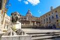 Palermo piazza pretoria also known as the square of shame della vergogna Royalty Free Stock Photos