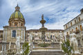 Palermo piazza pretoria also known as the square of shame piazza Royalty Free Stock Photo