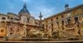 Palermo, Sicily, Italy: Piazza Pretoria