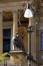Palermo Sicily Opera House detail Royalty Free Stock Photo