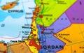 Palestine Gaza map