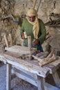 Palestinian carpenter Stock Photography