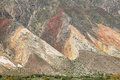 Paleta del Pintor, Maimara Royalty Free Stock Photo