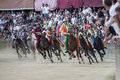 Palio di Siena Royalty Free Stock Photo