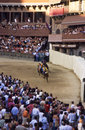 Palio di Siena - july 2003 Royalty Free Stock Photo