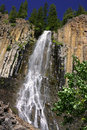 Palisades Falls at Gallatin National Forest Stock Photos