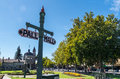 Pall mall in central bendigo australia is the main street the centre of a historic gold mining town victoria Stock Image