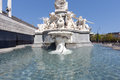 Pallas Athena Fountain, Vienna Royalty Free Stock Photography