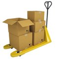 Pallet Truck with boxes Royalty Free Stock Image