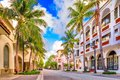 Worth Ave Palm Beach Royalty Free Stock Photo