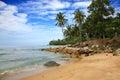 Palm beach isola di phuket tailandia Fotografia Stock Libera da Diritti