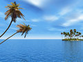 Palm Island Stock Photography