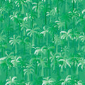 Palm tree green seamless pattern Royalty Free Stock Photo