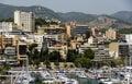 Palma de majorca panoramic view of the port of spain Stock Photos