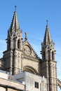 Palma de mallorca cathedral gothic of spain Royalty Free Stock Photography