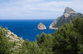Palma de mallorca landscape in Royalty Free Stock Images
