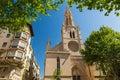 Palma de mallorca spain santa eulalia church Royalty Free Stock Photography