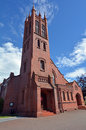 Palmerston north new zealand all saints anglican church nzl dec it s a trust heritage building as it brickwork is among the finest Royalty Free Stock Image