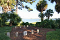 Palmetto Bluff graveyard Royalty Free Stock Photography