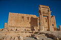 Palmyra syria the ruins of the ancient city before the war photo taken october Stock Photo