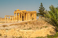 Palmyra temple ruins ancient in Stock Photography
