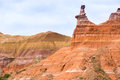 Palo Duro Canyon system of Caprock Escarpment located in Texas P Royalty Free Stock Photo