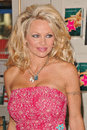 Pamela anderson at s appearance and book signing of star a novel at brentano s in the westfield shoppingtown Royalty Free Stock Photos
